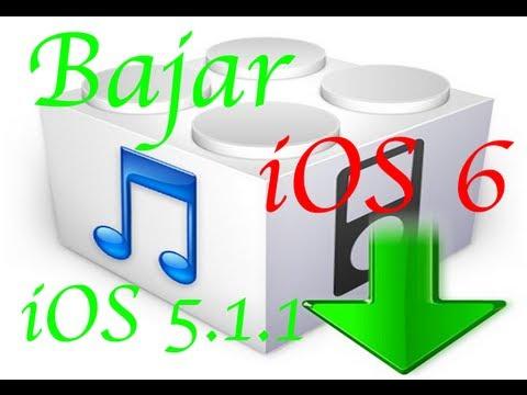 Bajar iOS 6 a 5.1.1 (PARA PRINCIPIANTES)