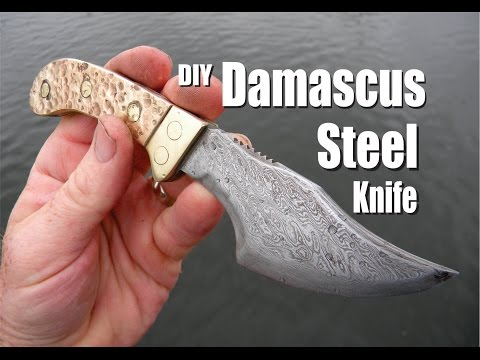 How to Make a Damascus Steel Knife