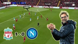 Liverpool Keep their Champions League Hopes Alive | Liverpool 1-0 Napoli | Tactical Analysis