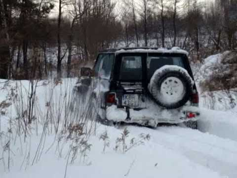 4x4 Winter off road - Nissan Patrol Y60  - Brzesko, Dębno