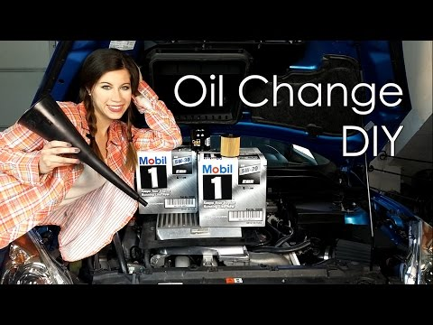 HOW TO DO AN OIL CHANGE!