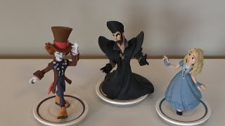 Disney Infinity 3.0 - Alice Through the Looking Glass UNBOXING All Characters