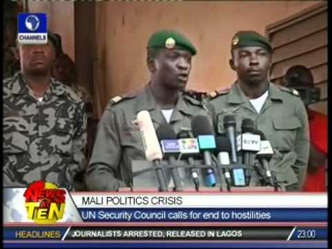 Mali Politics Crisis:UN Security Council calls for end to hostilities