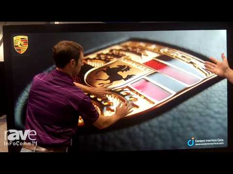 InfoComm 2014: AHA Shows its Capacitive Touch Display