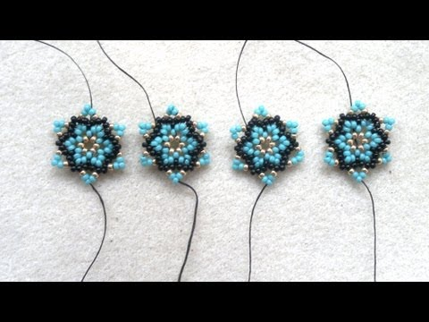 Beading4perfectionists : Creative process video :  Doodleling with beads -bead-doodles... :-)