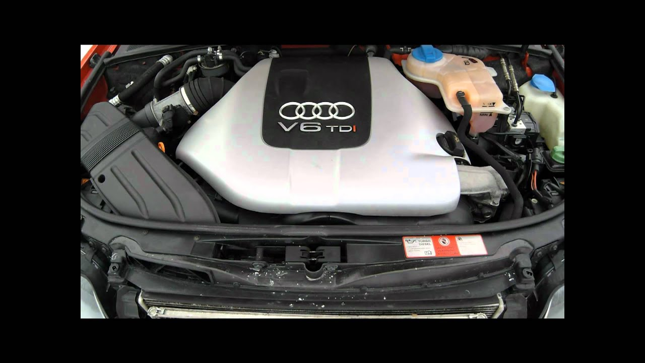 Audi A4 2 5 Tdi Sound Youtube