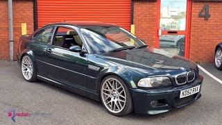 BMW E46 M3 Track Car Build Video - Redish Ohlins Recaro Powerflex Eibach