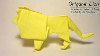 Origami Lion (robert J. Lang)