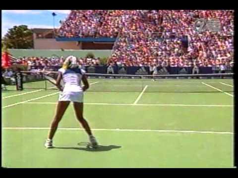 ビーナス(ヴィーナス) vs ヒンギス 1998 Sydney R16 6