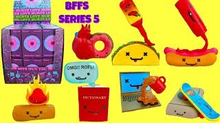 Unboxing New Kidrobot BFFs Series 5 Full Case of Vinyl Collectibles