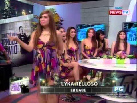 Tonight with Arnold Clavio: Mga miyembro ng EB Babes, nagpakilala sa pamamagitan ng pagsasayaw