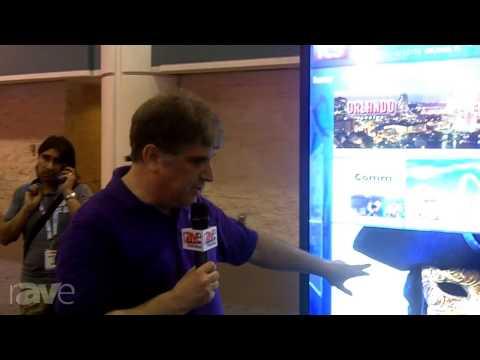 InfoComm 2013: ICS Talks About their Kiosks