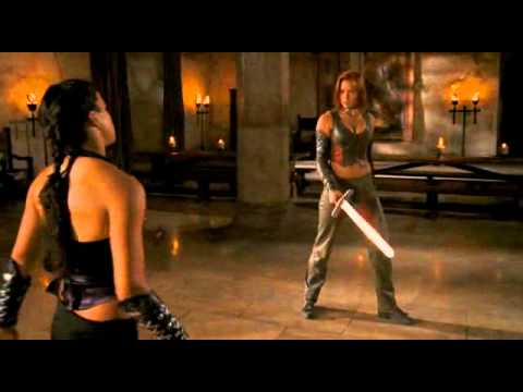 Michelle Rodriguez & Kristanna Loken - Fight & Death Scenes