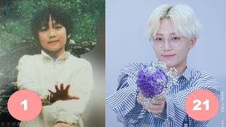 Jeonghan SEVENTEEN Childhood   From 1 To 21 Years Old