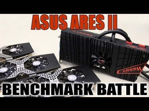 ASUS ARES II Benchmark Battle