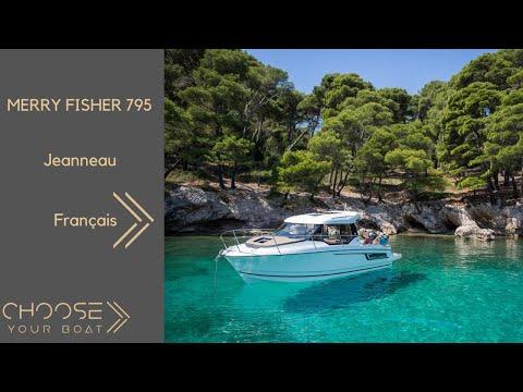 MERRY FISHER 795 de Jeanneau: Vidéo de Visite Guidée (en français)