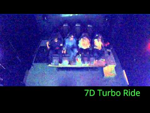 7D Turbo Ride at Connecticut Post Mall 360