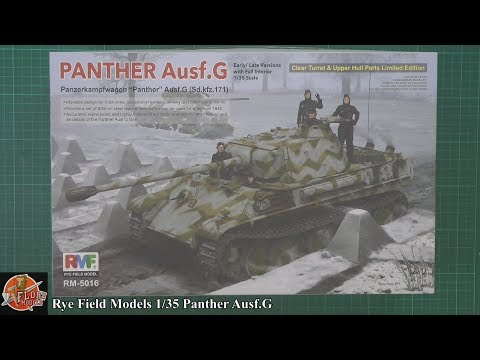 Rye Field Models 1/35 Panther G review