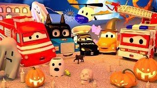Thành phố xe đặc biệt 🎃 HALLOWEEN 🎃 🚓 🚒 những bộ phim hoạt hình về xe tảiVietnamese Cartoons