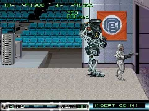 RoboCop 2 Completed 1 Coin Hardest Arcade