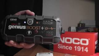Noco Genius Boost GB40 unboxing