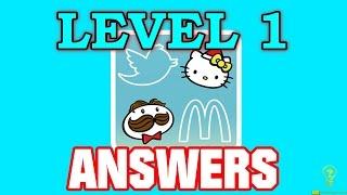 Прохождение игры logo quiz 1 уровень