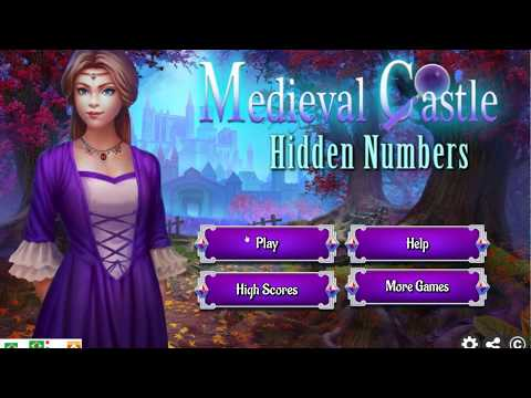 Game Medieval Castle Hidden Numbers