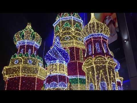 Новогодняя Москва Путешествие в Рождество