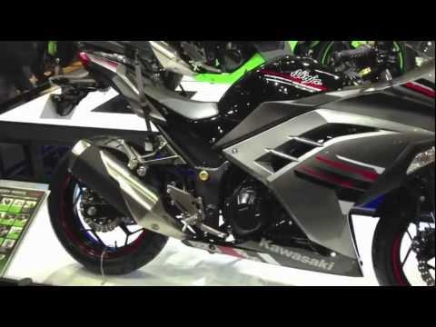 Kawasaki Ninja 250 (2013) / Motorcycle Show 2013