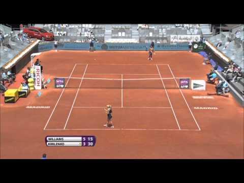 Теннис 3 круг С. Уилльямс (США) - М. Кирилленко (Россия)