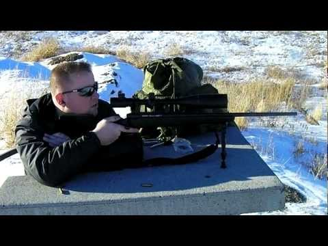 Savage Axis Rifle - First Shots 100 Yards (5 Round Group)