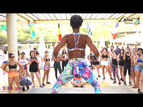 OLI RIZO REGGAETON DANCE WORKSHOP DEMO (Lebanon Latin Festival)