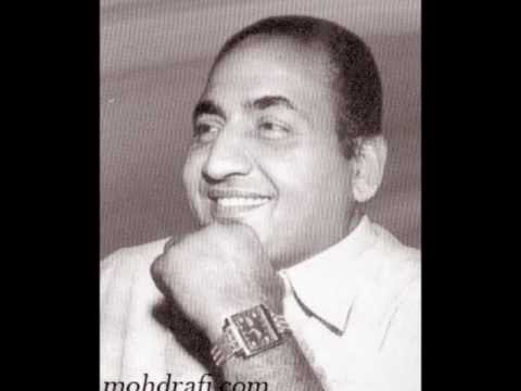 SAJDHAJ KE SAMJHANE AAYE FROM THE FILM NEK PARVEEN SUNG BY RAFI...