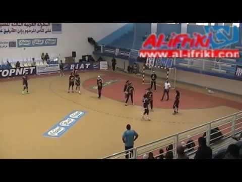 مباراة النادي الافريقي والأهلي المصري في إطار البطولة العربية