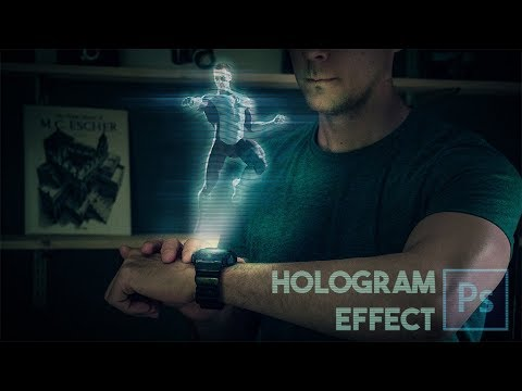 Hologram Effect in Photoshop | Easy and fun!