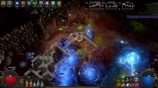 Path Of Exile - Pure Phys Shockwave Totem Ascendant Atziri Run (3.0/3.1ok)