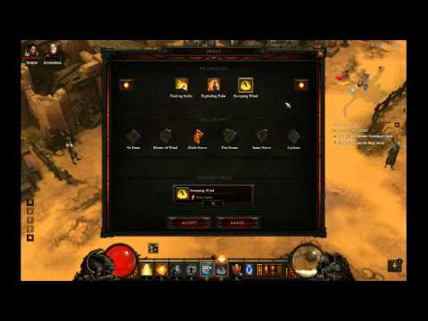Diablo 3 - Solo Inferno Monk Build + Explanation of Effective health and Damage mitigation