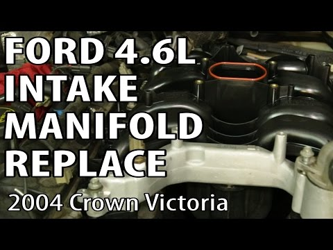 Ford 4.6L V8 Intake Manifold Cracked or Melted Coolant Inlet Fix