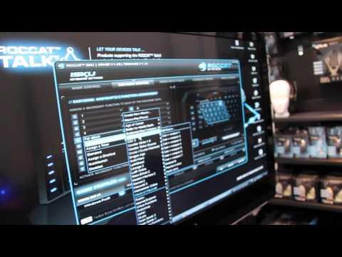 ROCCAT Gaming Keyboard ISKU spricht mit der Maus - CeBIT