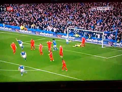 Everton 2-2 Liverpool Highlights
