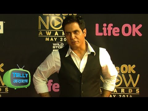 Aman Verma Throws Attitude At Life OK Now Awards 2014