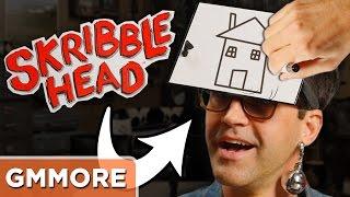 Playing Skribble Head