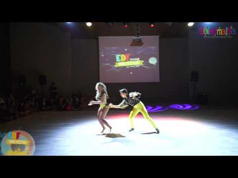 Antonio Berardi & Jasmina Berardi Dance Performance - EDF 2016