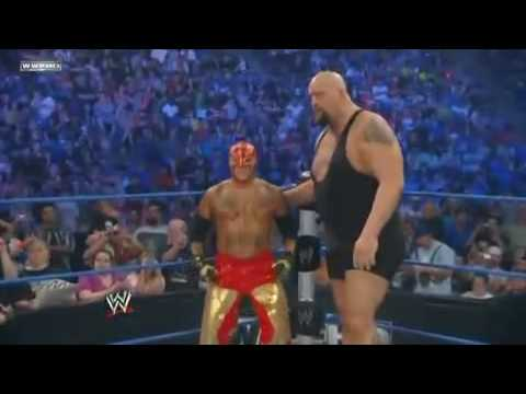 Wwe Smackdown Rey Mysterio big Show Vs 'dashing Cody Rhodes jack  Swagger Part 1 video
