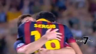 Lionel Messi vs Ajax • Hat-Trick • 18/09/2013
