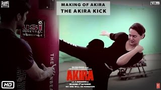 Akira | Making of Akira - The Akira Kick | Sonakshi Sinha | A.R. Murugadoss | 2nd Sept 2016