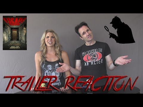 Escape Room Trailer Reaction @horrifyou