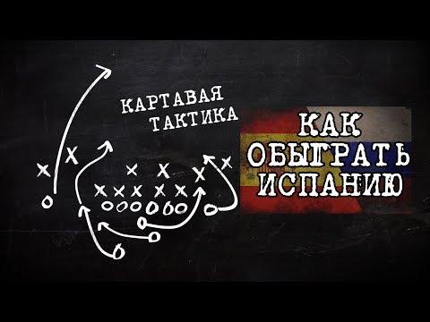 ЧМ 2018! Как сборной России сборную Испании обыграть?