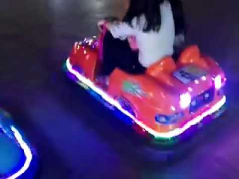 bumper car or game machine