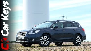 Subaru Outback 4K 2016 review - Car Keys